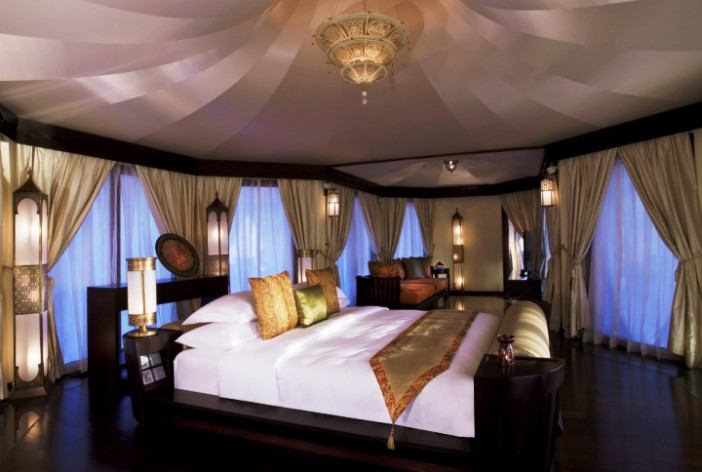 hotel banyan tree al wadi ras al khaimah, Schlafzimmer