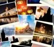 Collage von Fotografien aus den Vereinigten Arabischen Emiraten
