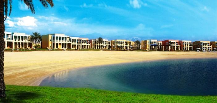 Der private Strand des Hotel Hilton Ras al Khaimah