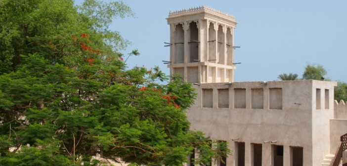 Turm im Nationalmuseum in Ras al Khaimah