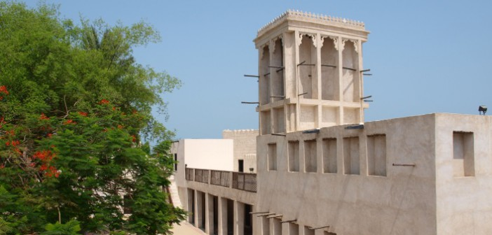 Arabischer Turm im Nationalmuseum in Ras al Khaimah