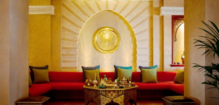 Das Casa Maghrib-Restaurant im Marjan Island Restort