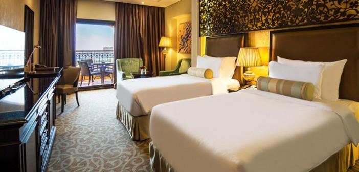 Schlafzimmer im Marjan Island Resort