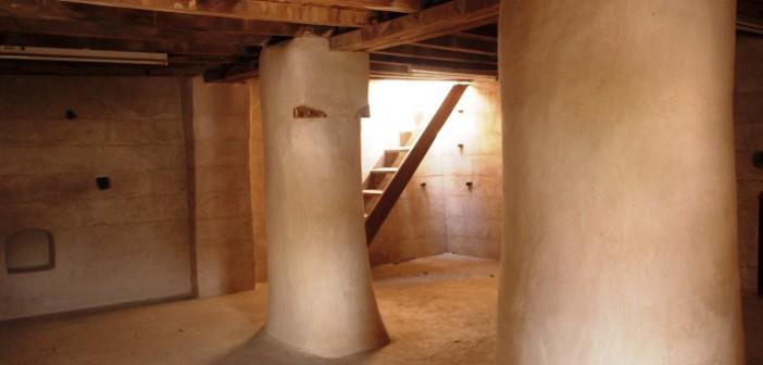Blick in die gut erhaltenen Räume im Al Hisn Fort