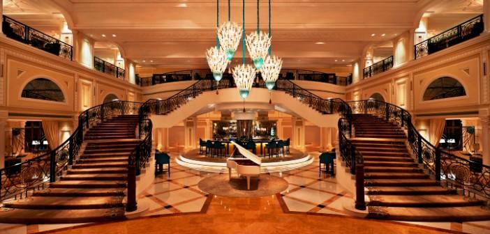 Lounge des Waldorf Astoria in Ras al Khaimah