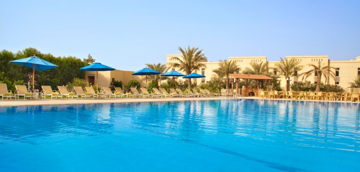 Pool im Acacia Hotels Ras al Khaimah