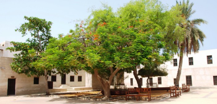 Innenhof im Al Hisn Fort