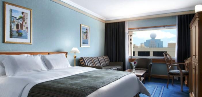 Blick in das Zimmer im Hotel Hilton Ras al Khaimah