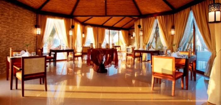 Die Lobby im Hotel Banyan Tree Ras Al Khaimah Beach © Banyan Tree Hotel