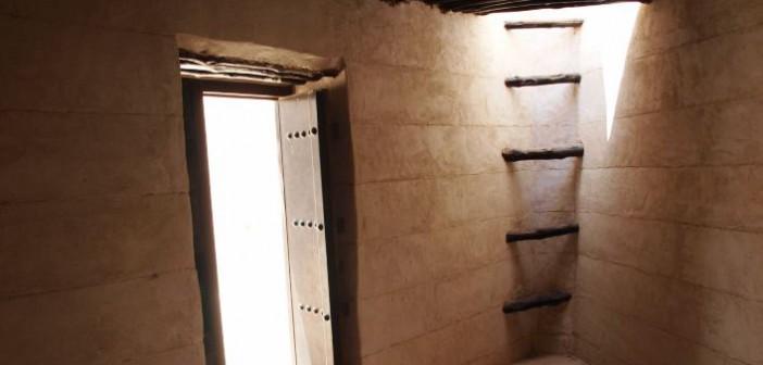 Sprossenleiter im Al Hisn Fort Ras al Khaimah