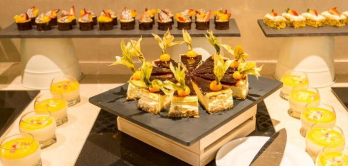 Nachtisch Buffet im Marjan Island Resort