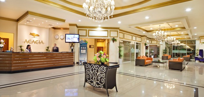 Lobby im Acacia Hotels Ras al Khaimah