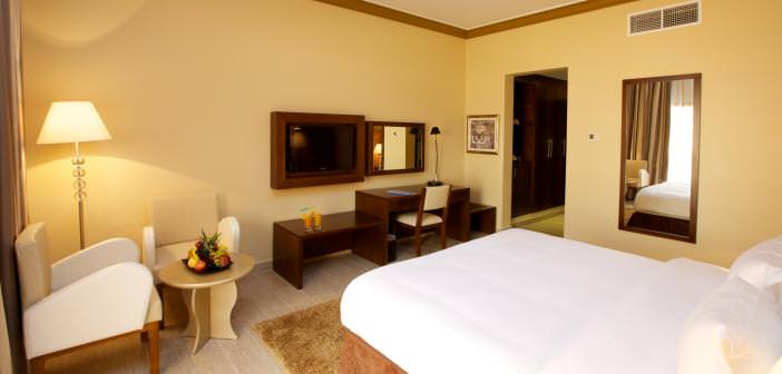 Geräumige Zimmer im Bin Majid Beach Resort