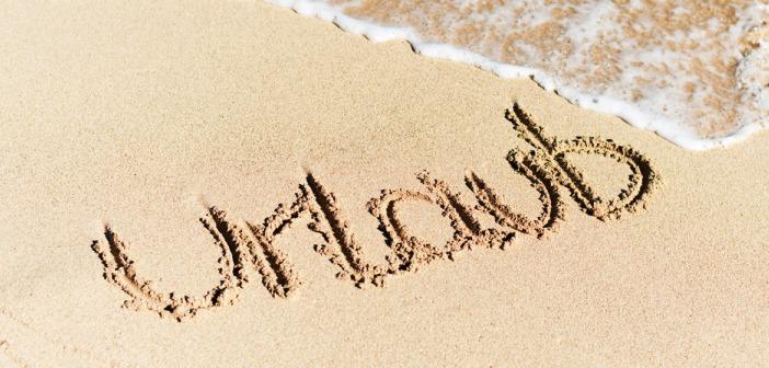 Urlaub in Ras al Khaimah - mit den Fingern im Sand geschrieben